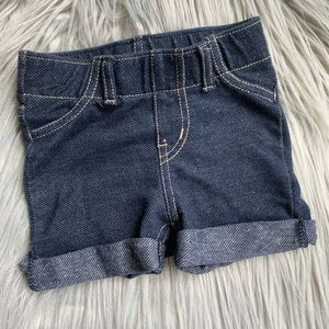 Circo Infant Girl Denim Stretch Shorts, sz 12 m
